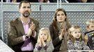 Multitud de rostros conocidos en el partido de tenis por la Fundación Rafa Nadal