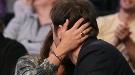 Penélope Cruz y Javier Bardem, ultimos días de embarazo en un partido