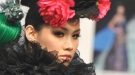 Desfile de moda 'floral' en la 'Taipei International Flora Expo'