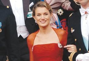 La Princesa de Asturias lo tiene claro: el rojo es su color