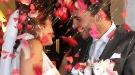 Imágenes de la boda de Antonio Tejado y Alba Muñoz en Sevilla