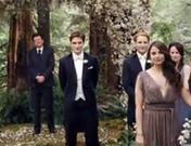Imágenes de la boda de Kristen Stewart y Robert Pattinson en 'Amanecer'