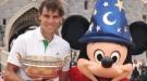 Así celebran Rafa Nadal y Xisca Perelló el triunfo en Roland Garros
