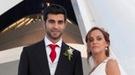 Boda de Raúl Albiol con su novia Alicia Roig en Valencia