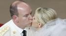 Charlene Wittstock, radiante novia en la Boda Real de Mónaco