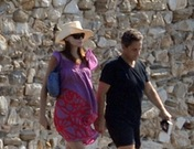 Las vacaciones de Carla Bruni y Nicolás Sarkozy en la costa azul