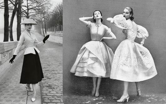 La moda en los 50