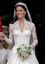 Kate Middleton, perfecta el día de su boda