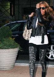 Beyoncé Knowles, como no llevar las tachuelas