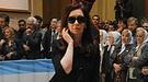 El último adiós de Cristina Fernández, Florencia y Máximo a Néstor Kirchner