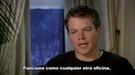 Entrevista con Matt Damon, protagonista de 'Destino oculto'