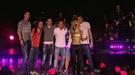 El Barça celebra su triunfo en el concierto de Shakira
