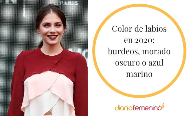 Colores de labios de tendencia en el a�o 2020