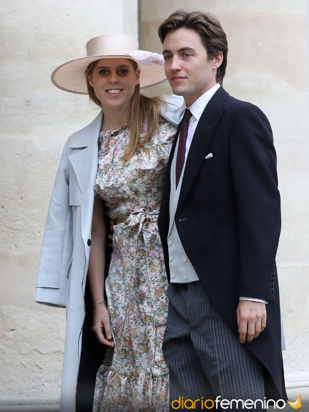 Beatriz de York y Edoardo Mapelli, boda 2020 en la Realeza