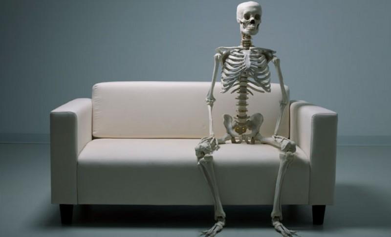 soñar con un esqueleto: deja de esperar