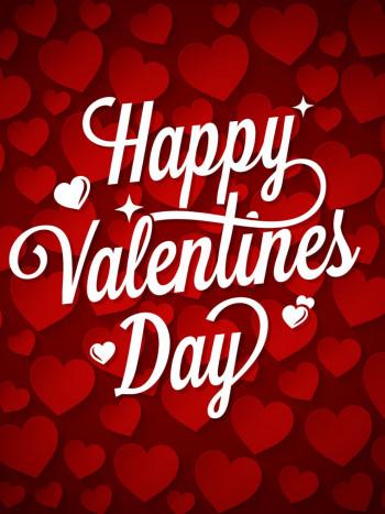 Tarjetas en inglés de San Valentín: 'I love you' el 14 de febrero