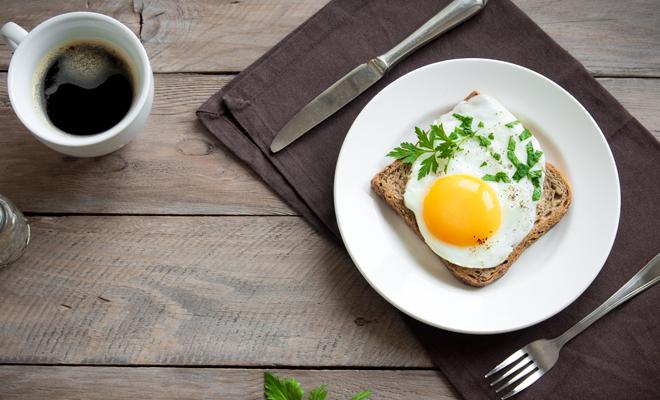 Huevos adelgazar desayuno para