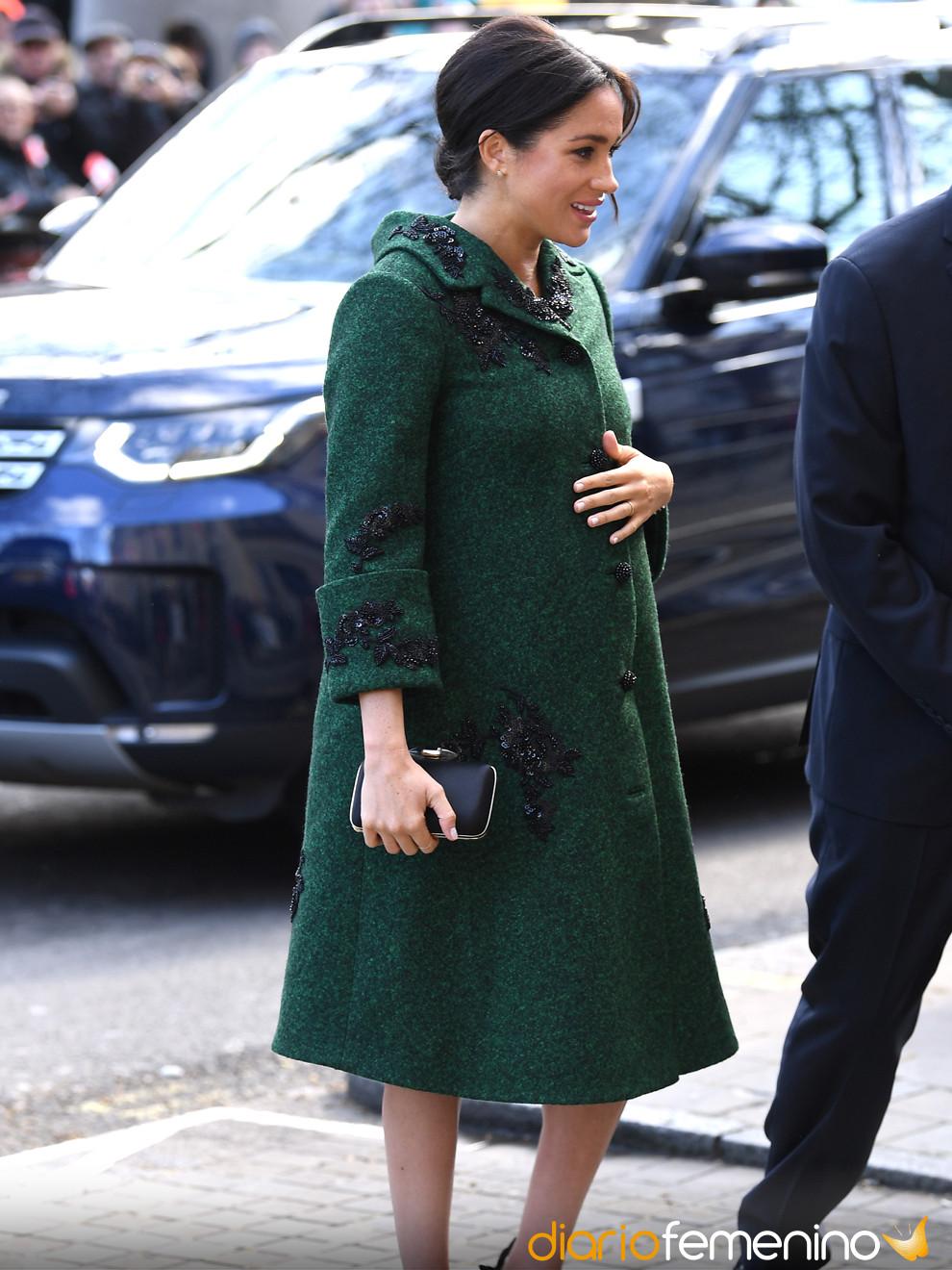 Meghan Markle y sus elegantes looks de embarazada