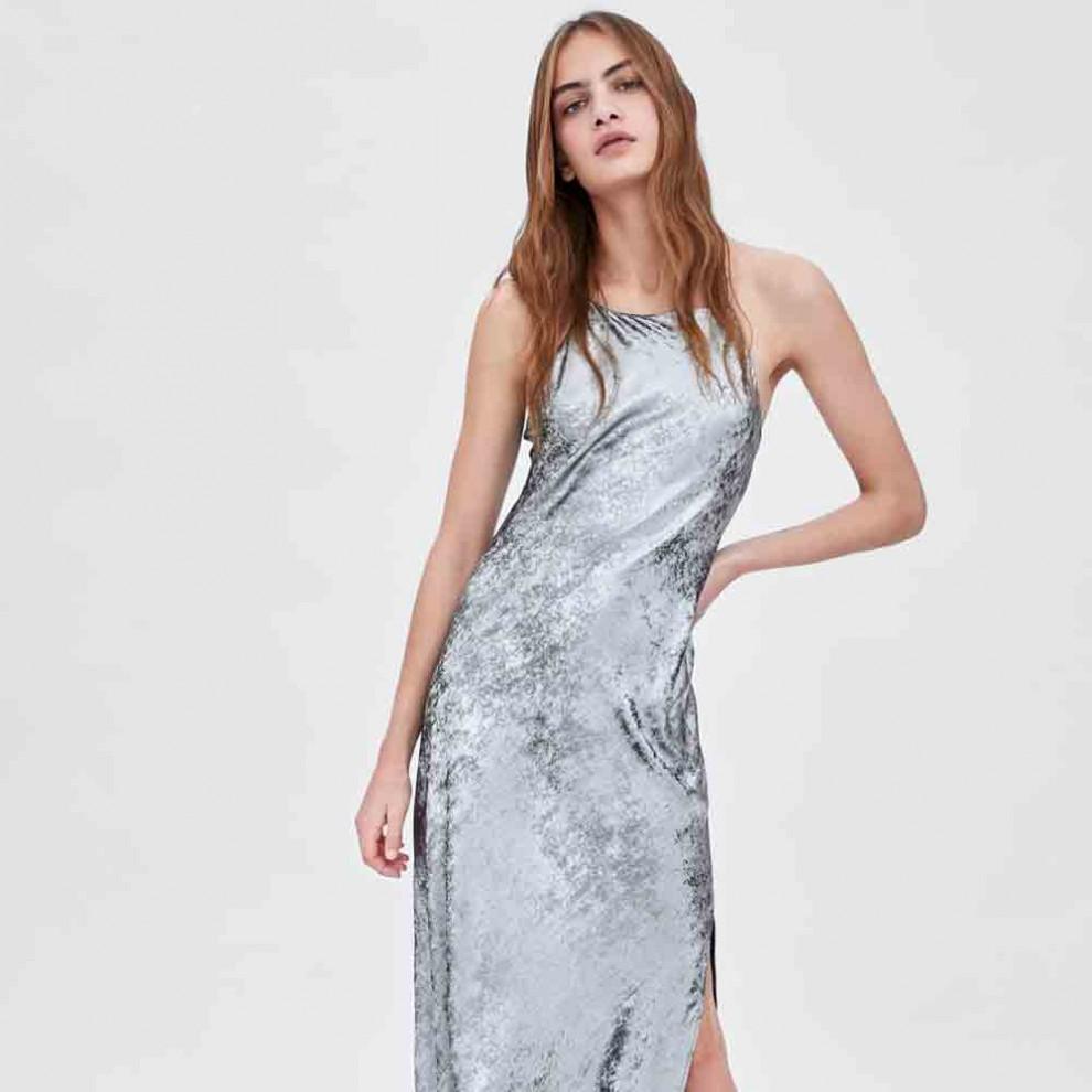 Vestido de fiesta de Zara para las más atrevidas