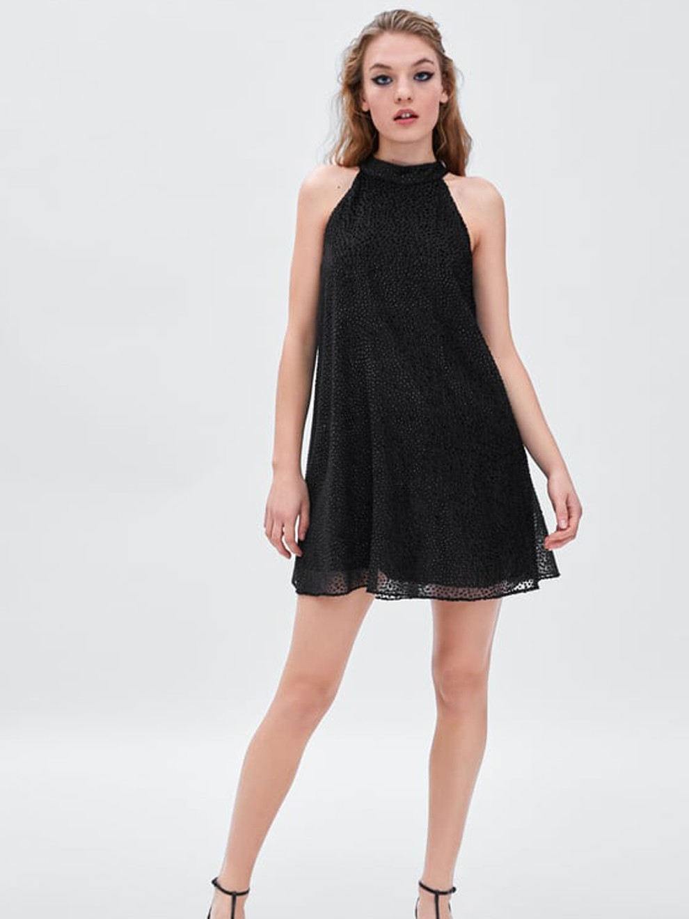 Vestido de fiesta de Zara: sencillez y estilo a partes iguales