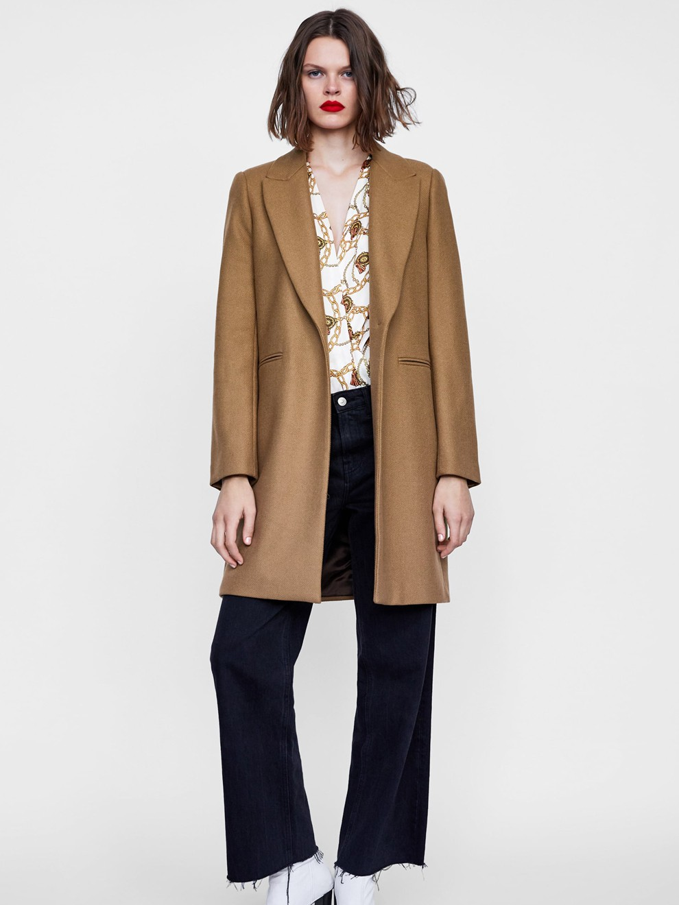 Look elegante de Zara para ir a la oficina en 2019