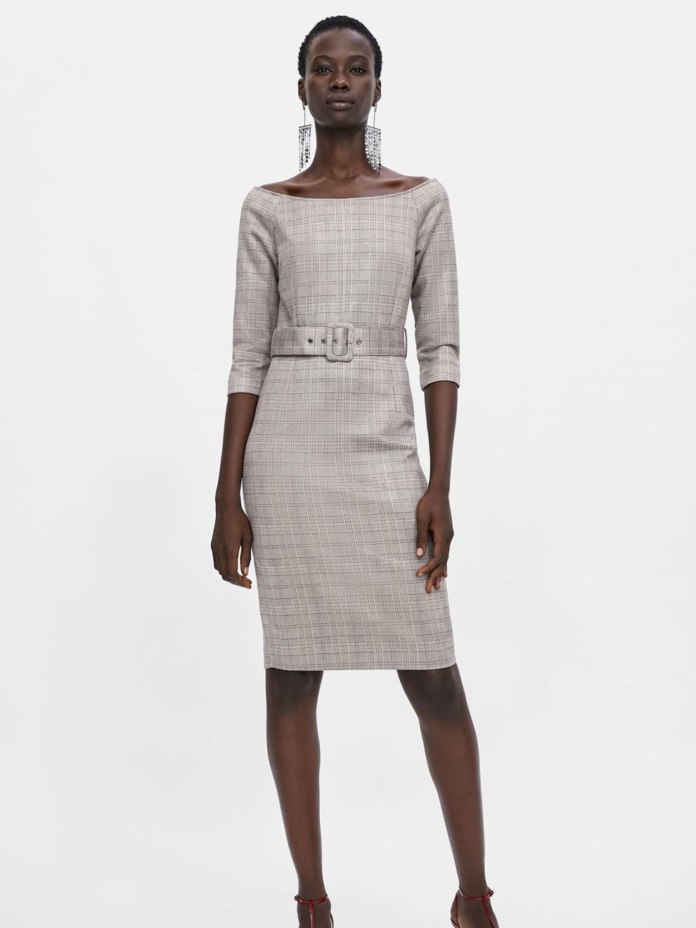 Look sofisticado de Zara para ir a la oficina en 2019