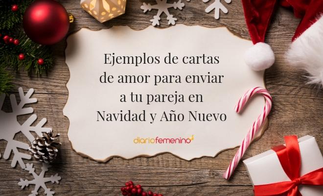 Modelos De Cartas De Amor Para Felicitar A Tu Novio En Navidad Y Año