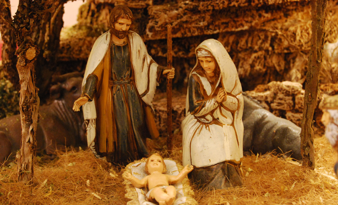 Why do you dream of putting on a Christmas nativity scene?