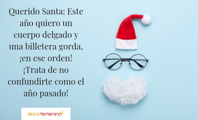 Frase navideña de Papá Noel