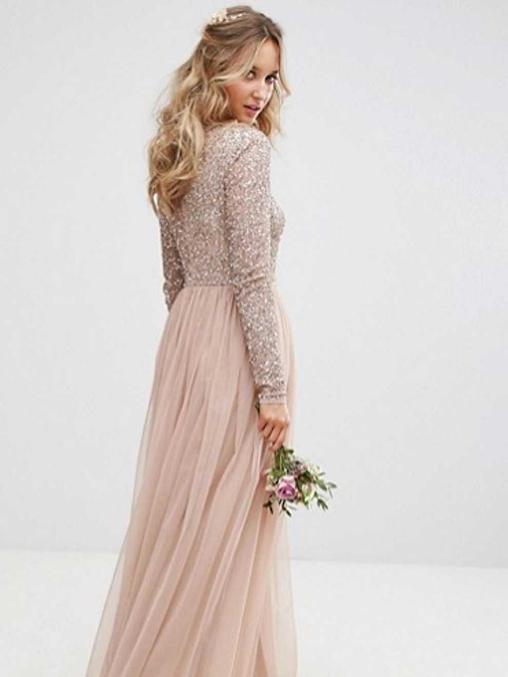 el más nuevo 6b080 aaac4 Vestido rosa muy primaveral de Asos por 124'99 euros