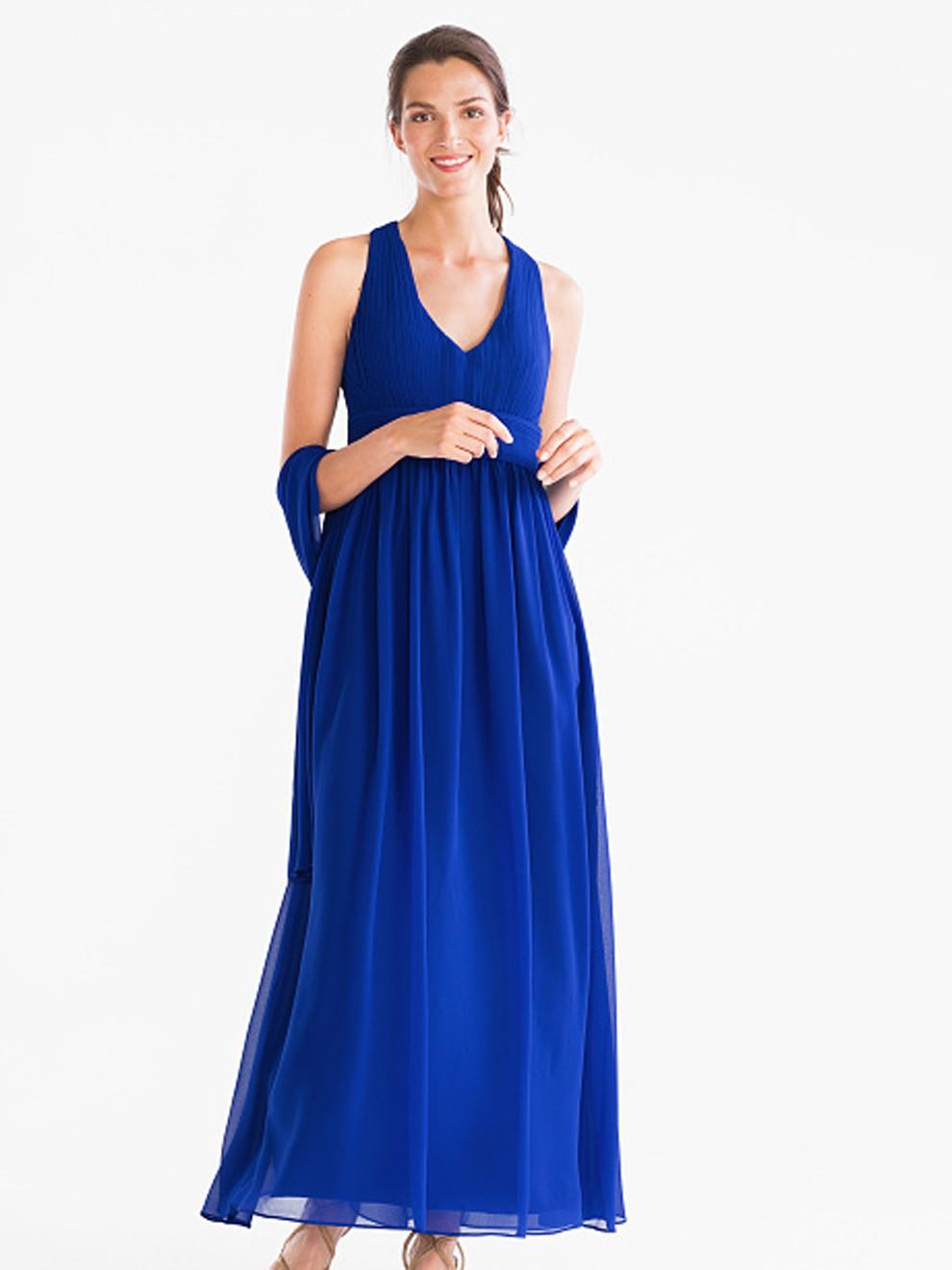 Vestido azul eléctrico de C&A por 99 euros