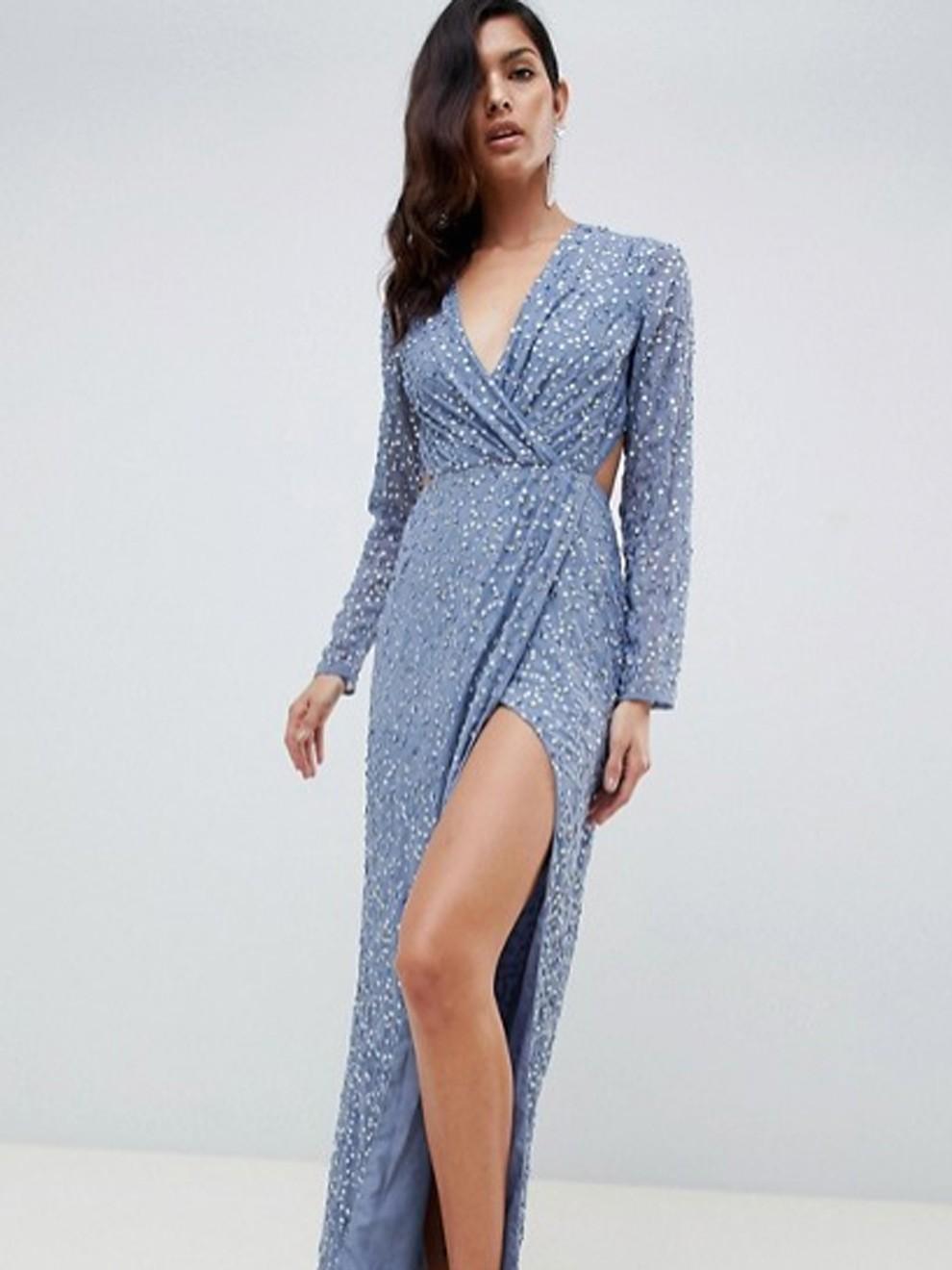 Derrocha estilo con un vestido de pedrería de Asos por 109'99 euros