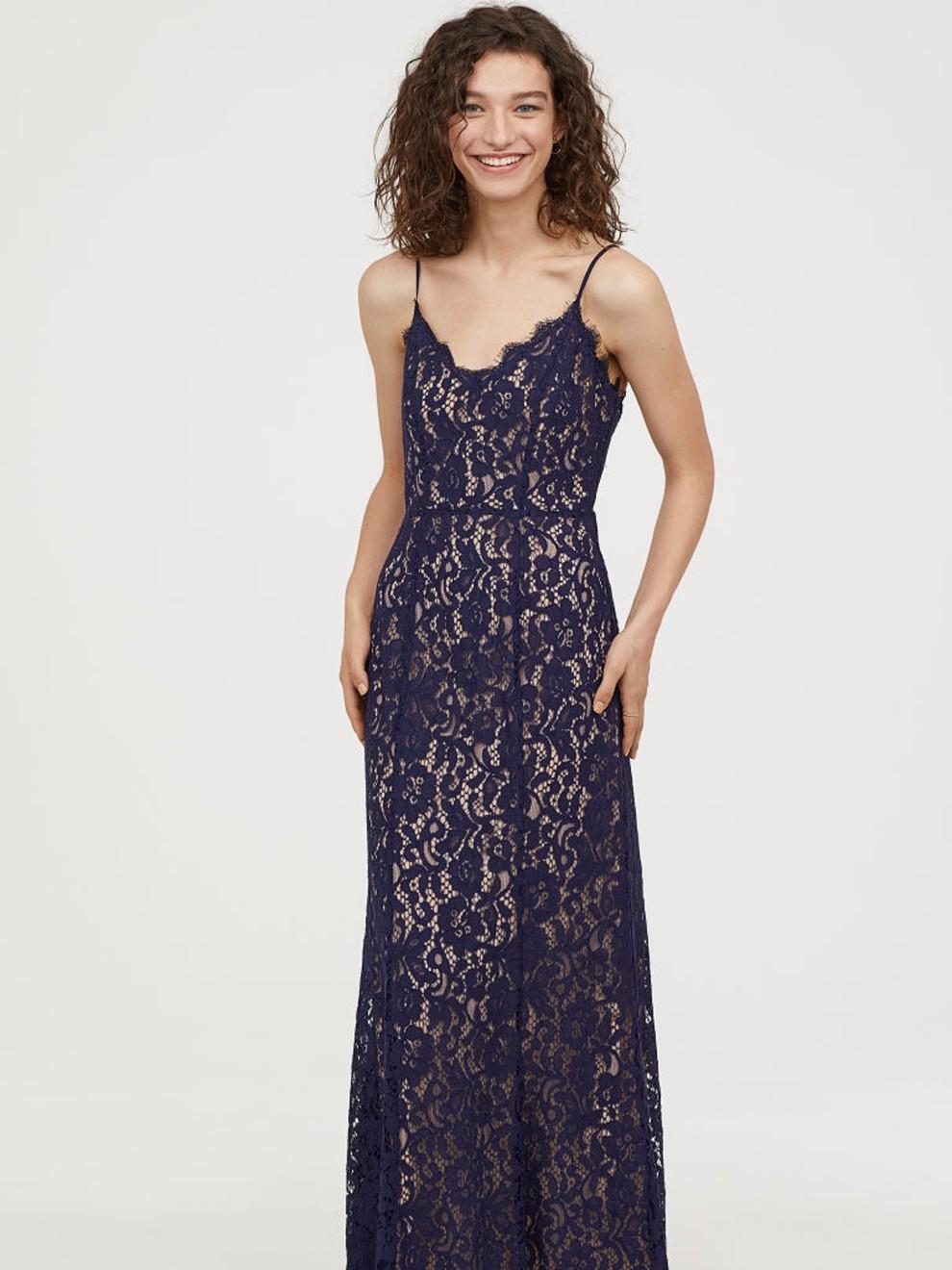 El encaje, la estrella de las bodas en 2019 con H&M por 99 euros