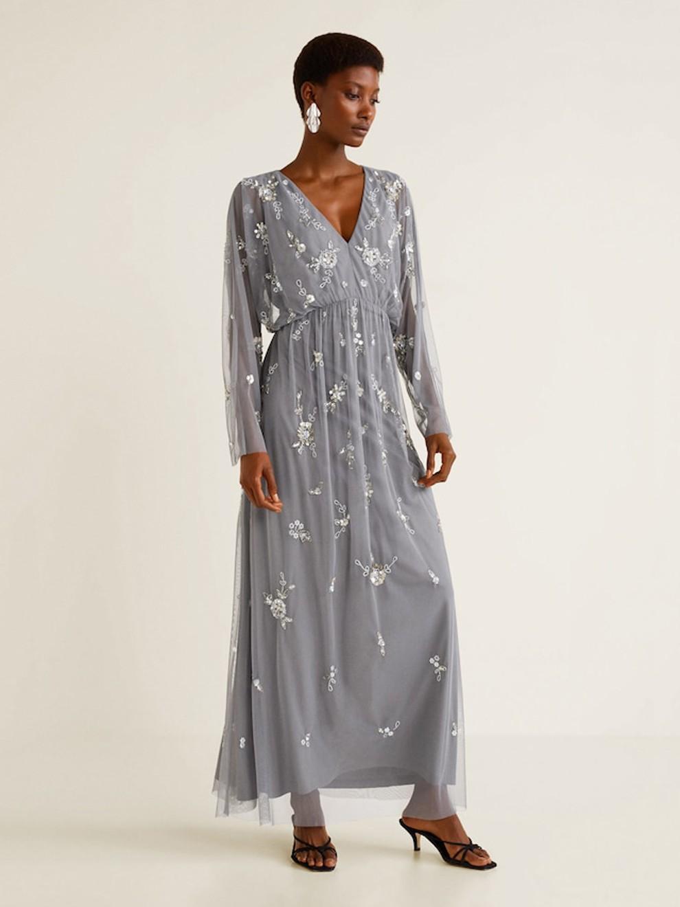 Vestido perfecto para bodas de tarde de Mango por 149'99 euros