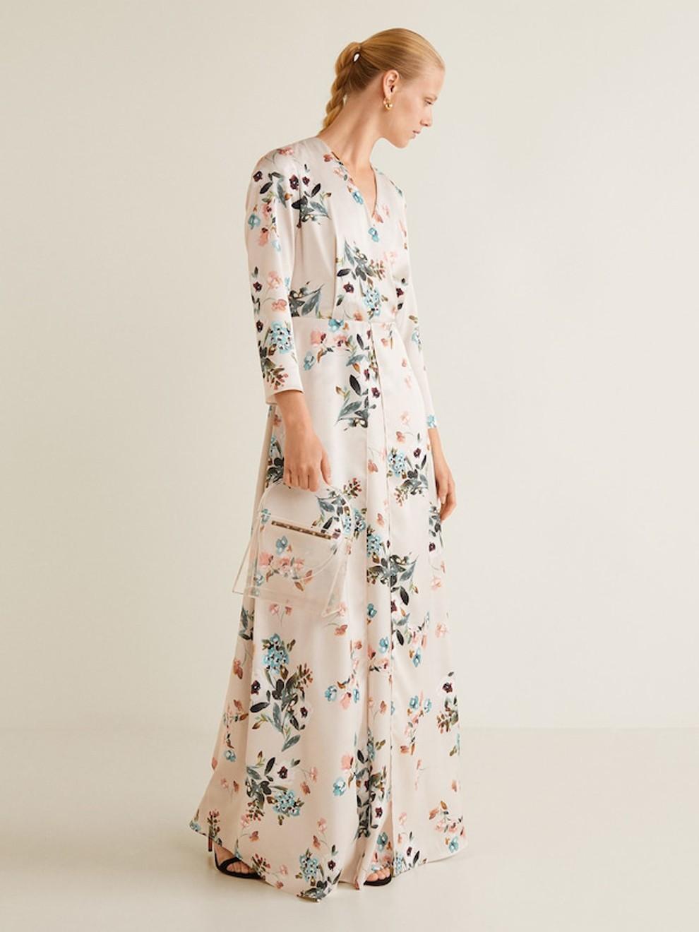 d50b8ab052 La elegancia se transforma en vestido con Mango por 89 99 euros