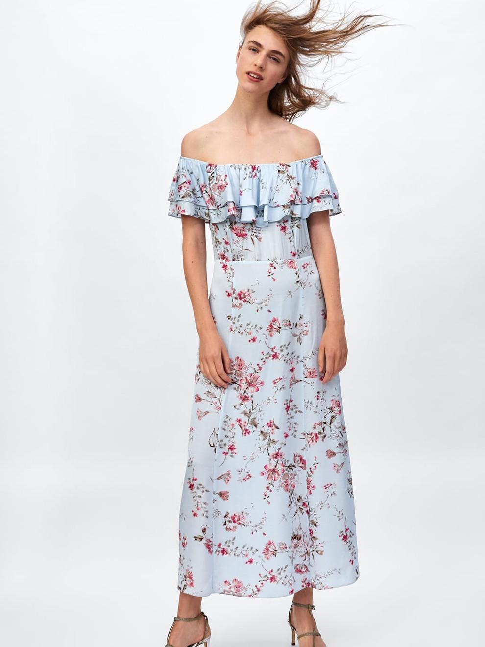 Vestidos para boda zara 2019