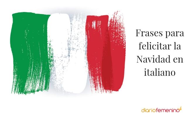Frases para felicitar la Navidad en italiano