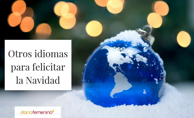 Otros idiomas para felicitar la Navidad