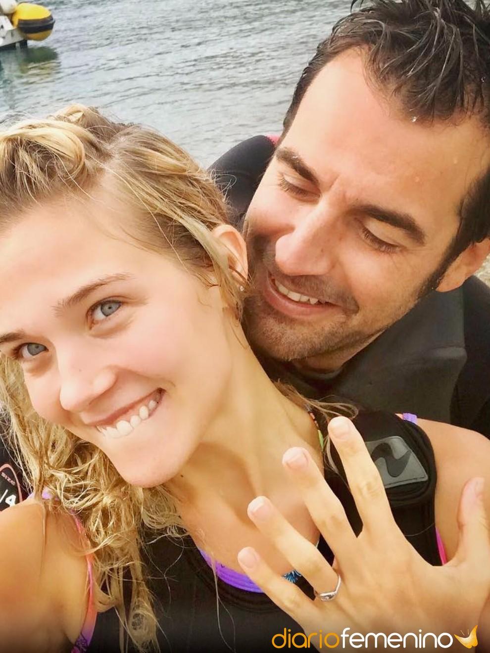 Patricia Montero y Álex Adrover sellarán su amor en 2019