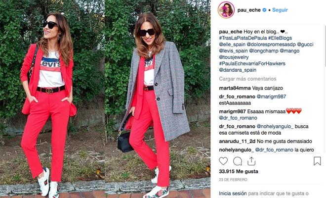 El look de Paula Echevarría para esta primavera