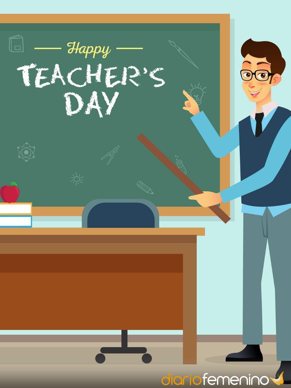 Frases Para El Día Del Maestro Dedicatorias Para Los Queridos Profes
