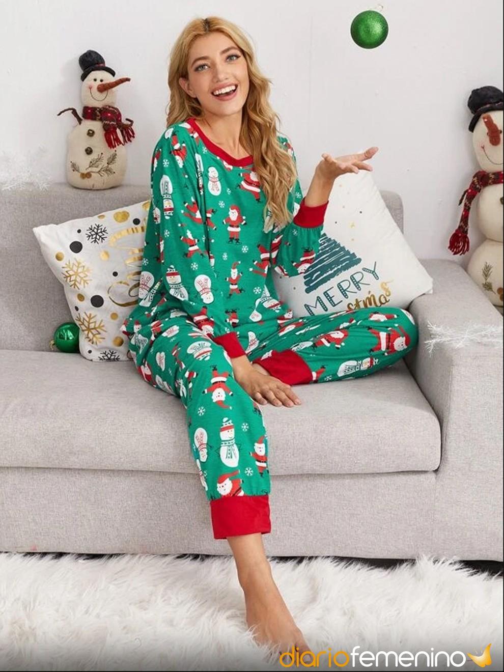 Pijama navideño de Papá Noel de Shein para Nochevieja 2020/2021