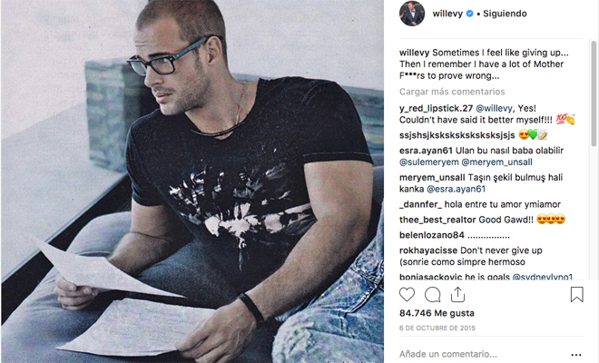 William Levy, imposible no quererle