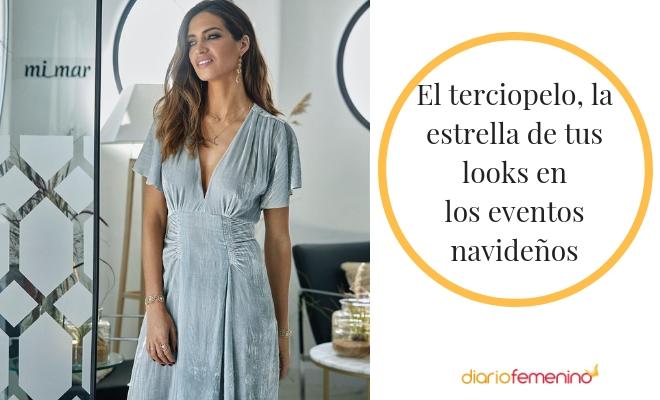e7635af660 Sara Carbonero con un vestido de terciopelo ideal para Navidad
