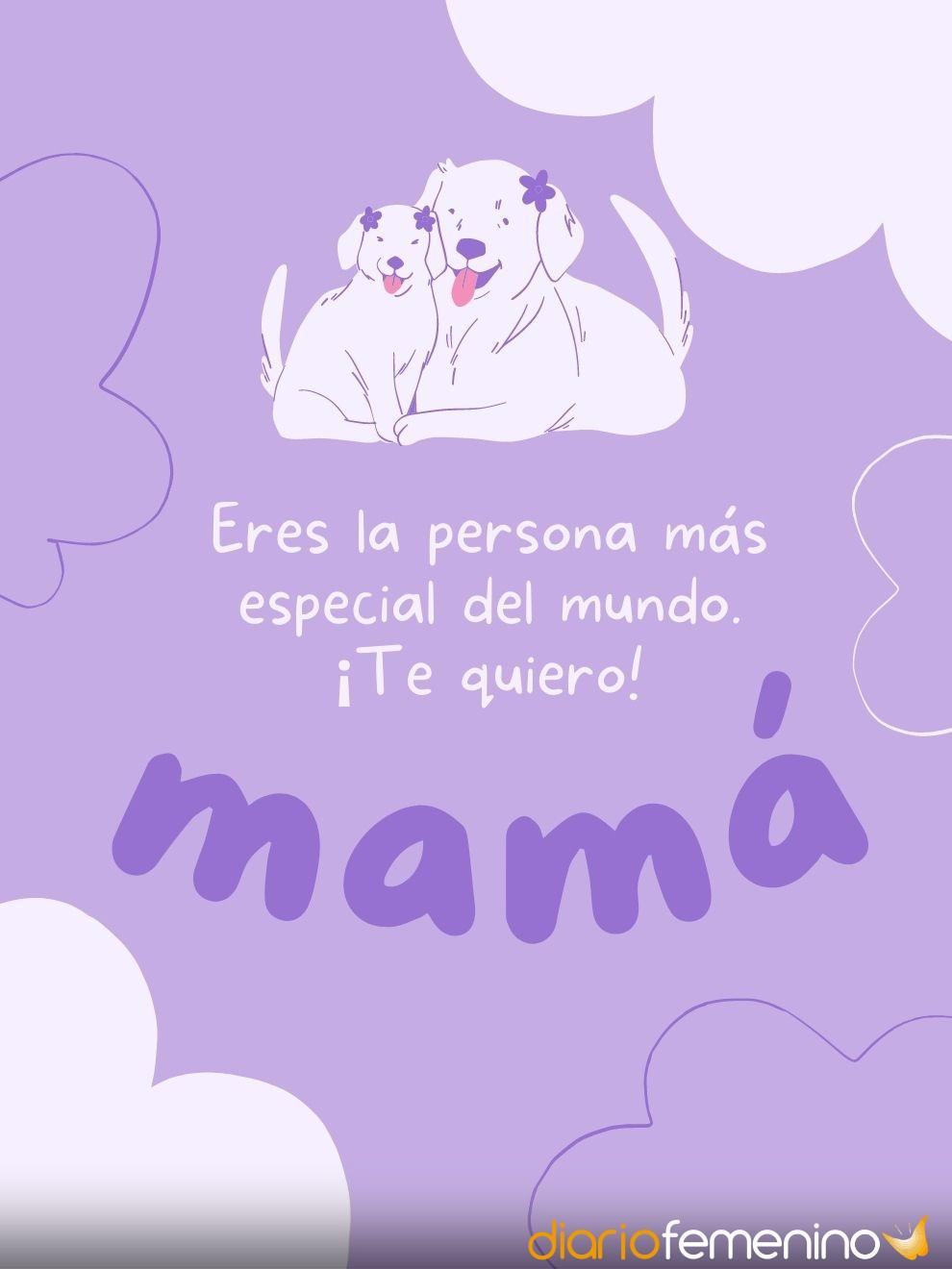 Tarjetas ideales para celebrar el Día de la Madre