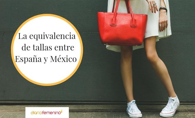 c30e7401d Equivalencia de tallas de ropa y calzado entre España y México