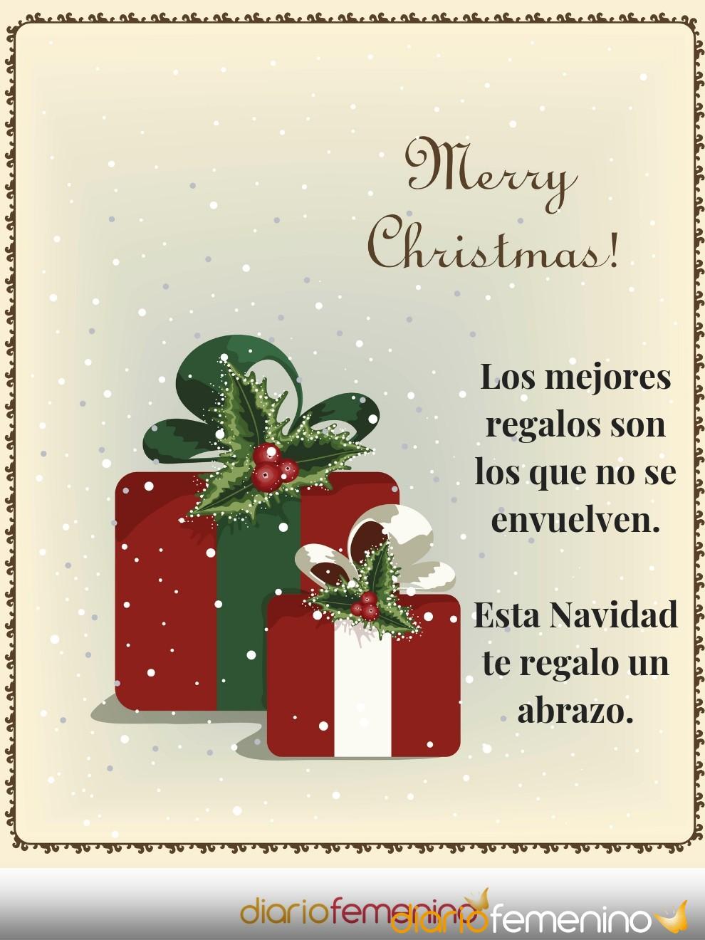 Tarjeta muy especial para desear una feliz Navidad a todos tus amigos
