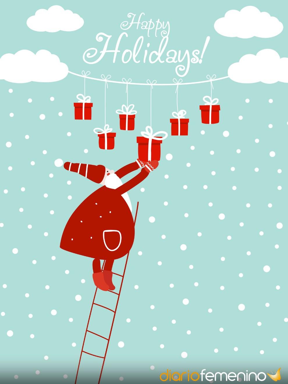 Tarjetas de Navidad con mensaje para felicitar a toda tu familia (padres, primos…)