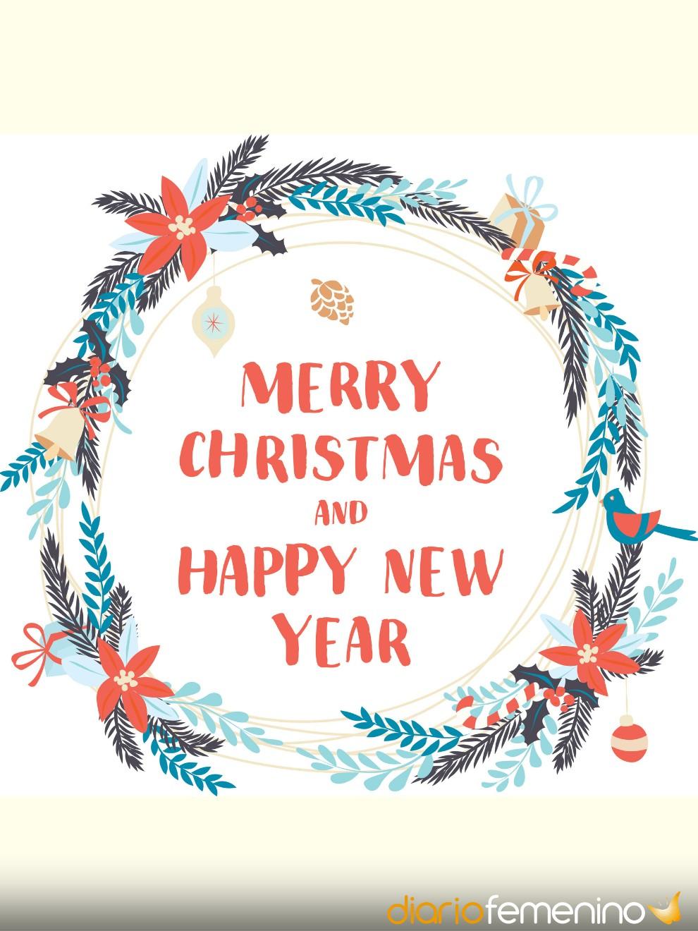 Felicita la Navidad a tu familia en inglés con este hermoso christmas