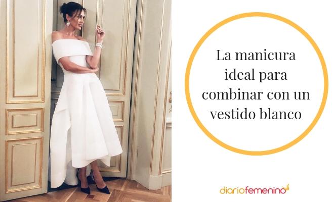 Un Uñas BlancoColores Las Para Cómo Pintarse Perfectos Vestido VLUqSzMGp